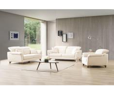 Stoff Couchgarnitur Erlangen 3er und Sessel