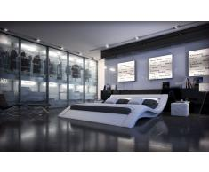 Designer Bett Massa Bettgestell mit LED Beleuchtung 140x200, 160x200, 180x200, 200x200, 200x220