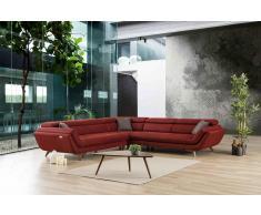 Moderne Relax Couch Lübeck L Form mit Ausziehfunktion