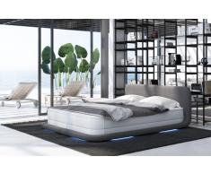 Boxspringbett Oslo mit LED Beleuchtung Android
