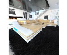 Design Wohnlandschaft TURINO XL mit LED Beleuchtung