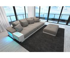 Sofa Bellagio als modernes Bigsofa mit LED Licht