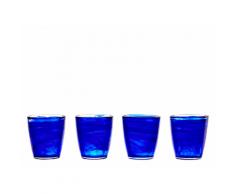 Sonje 4 x Wassergläser, Blau