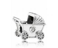 Charm -Kinderwagen Pandora Weiß