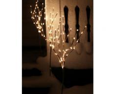 3er Set LED-Baum mit Erdspieß Star Trading Braun