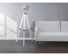 Stehlampe weiß 143 cm ALZETTE
