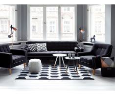 Tischleuchte schwarz 63 cm OWENS