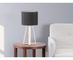 Tischlampe Schwarz - Stehlampe - Nachttischlampe - Leselampe - Tischleuchte - KORANA