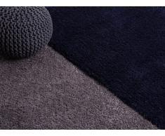 Teppich dunkelblau 160 x 230 cm Hochflor EDIRNE
