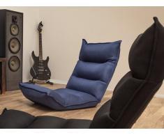 Sitzsessel verstellbar dunkelblau BALKA