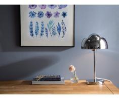 Tischlampe silber 44 cm SENETTE