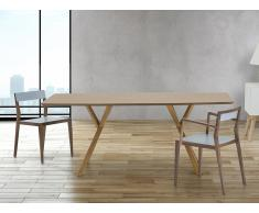 Esszimmertisch - Küchentisch - 180 cm - Tisch in Kiefernholz - LISALA
