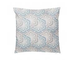 Dekokissen Muster hellblau/grau 45 x 45 cm PRIMROSE