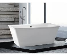 Badewanne freistehend rechteckig ARUBA