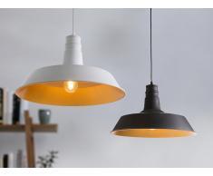 Lampe Weiss - Deckenlampe - Deckenleuchte - kostenlose Glühbirne - BAYOU