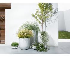 Blumenkübel weiss rund 30 x 30 x 30 cm AVAN