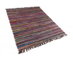 Teppich dunkelbunt 160 x 230 cm Kurzflor DANCA