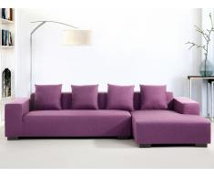 Sofa Violett - Couch - Ecksofa L - Sofalandschaft - Sofagarnitur - Stoffsofa - LUNGO