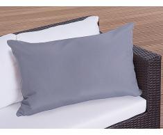 Gartenkissen - Zierkissen - Outdoor Dekokissen 50x70 cm grau