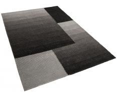 Teppich grau - 300x400 cm - Shaggy - Polyester - ANKARA