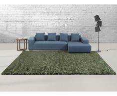 Teppich grün - 300X400 cm - Shaggy - Polyester - OREN