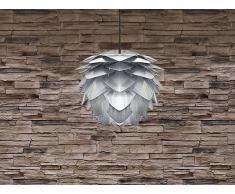 Deckenlampe Silber - Hängelampe - inkl. Lampenfassung - ANDELLE mini