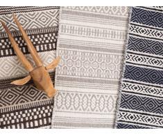 Teppich Braun - 80x150 cm - Wolle - Baumwolle - Läufer - Vorlage - POLATLI