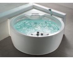 Whirlpool-Badewanne Eckmodell MILANO