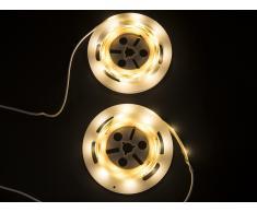 LED-Streifen 2 x 120 cm weiss