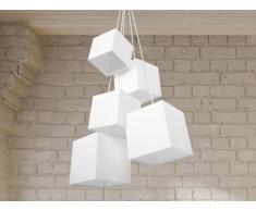 Hängelampe weiss - Deckenlampe - Pendellampe - Pendelleuchte - Beleuchtung - MESTA
