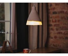 Lampe Grau - Deckenlampe - Deckenleuchte - Hängeleuchte - Leuchte - SEYMOURE