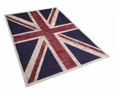 Teppich - UK-Flagge - 160x230 cm - Viskose - ADANA