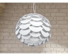 Hängelampe, weiss - Deckenlampe - Pendellampe - Pendelleuchte - Beleuchtung - MOSELLE