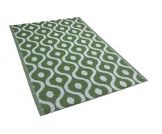 Outdoor Teppich grün 120 x 180 cm PUNE