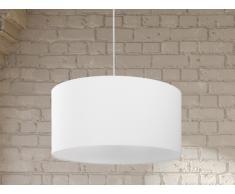 Hängelampe, Elfenbein - Deckenlampe - Pendellampe - Pendelleuchte - Beleuchtung - ELBE
