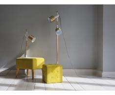 Stehlampe weiss 148 cm OWENS