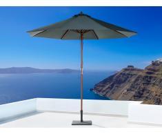 Sonnenschirm Anthrazit - Ampelschirm - ø 270 cm - Sonnenschutz - Holz - TOSCANA II