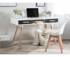 Schreibtisch weiß/grau 120 x 45 cm FRISCO