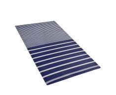 Outdoor Teppich marineblau 90 x 180 cm HALDIA