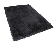 Teppich schwarz 200 x 300 cm Hochflor CIDE