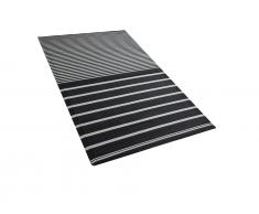 Outdoor Teppich schwarz 90 x 180 cm HALDIA
