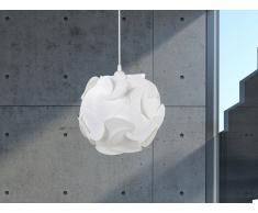 Lampe Weiss - Deckenlampe - Deckenleuchte - Hängelampe - Hängeleuchte - Leuchte - TAMBRE