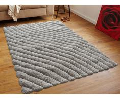 Teppich beige - 300X400 cm - Velours - Polyester - ORDU