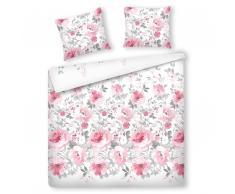 Bettwäsche Set rosa 200 x 220 cm ALVITO