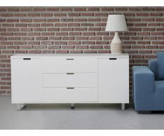 Sideboard weiss - Kommode - Regal - Schrank - TV-Board - Fernsehtisch - TV-Bank - SEATTLE