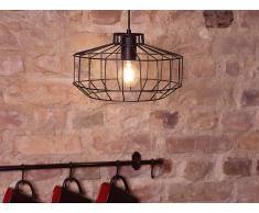 Lampe Schwarz - Deckenlampe - Deckenleuchte - Hängeleuchte - Leuchte - WABASH