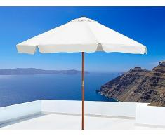 Sonnenschirm 300 x 300 x 250 cm beige TOSCANA