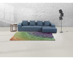 Teppich Regenbogenfarben - 160x230 cm - Shaggy - Polyester - BURSA