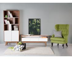 Sideboard Braun-Weiss - Kommode - Regal - Lowboard - Schrank - TV-Möbel - SYRACUSE