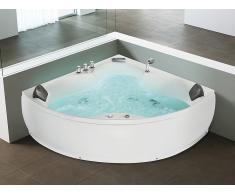Whirlpool-Badewanne Eckmodell SENADO